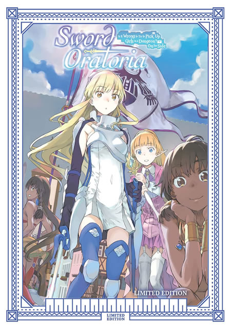 Sword Oratoria: Is It Wrong To Try To Pick Up Girls In A Dungeon? On The Side Collector's Edition Combi