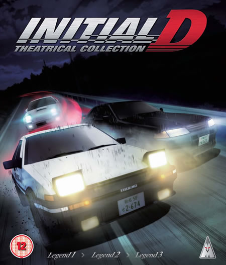Initial D Legend - Movie Collection
